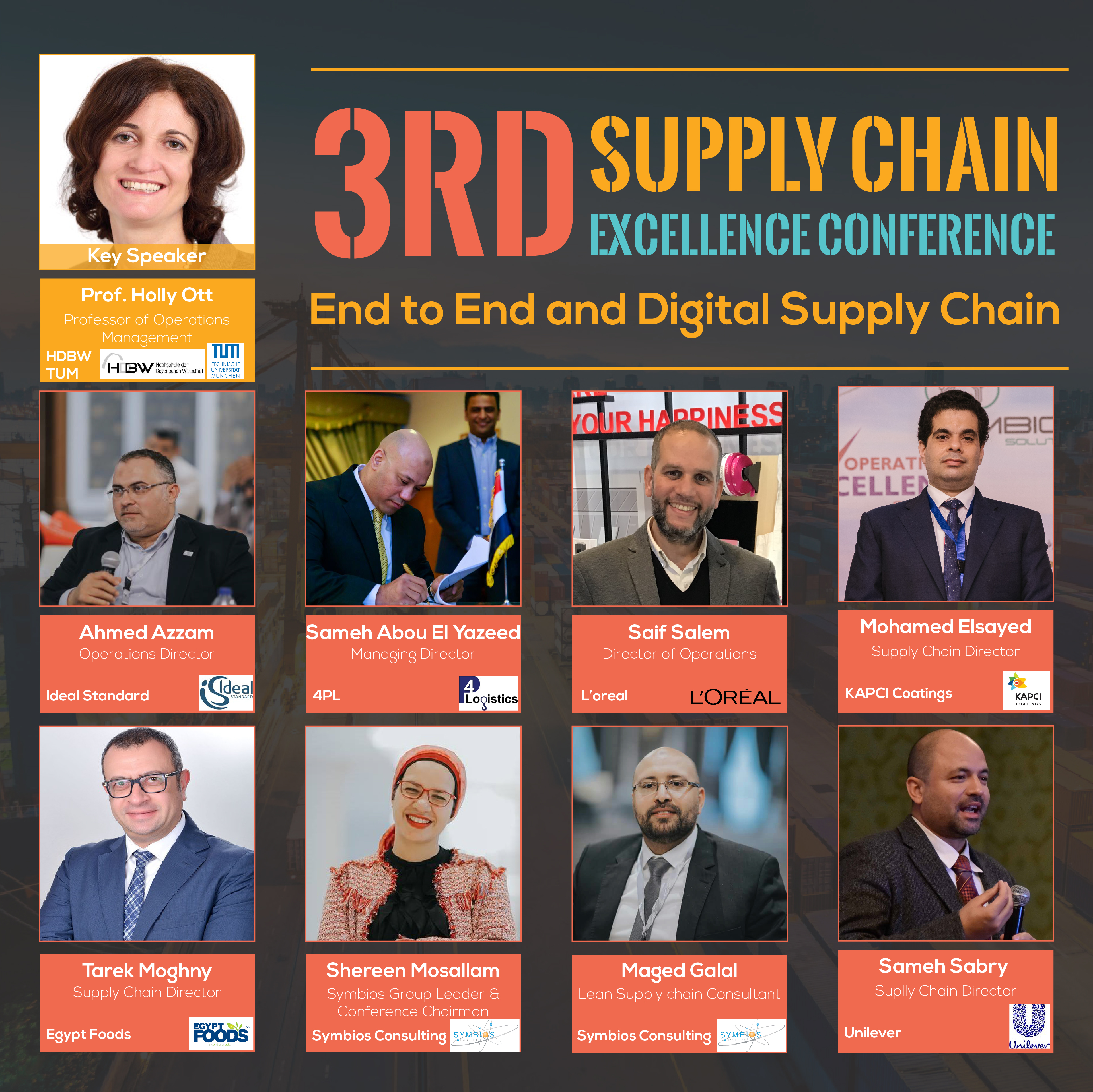 Third Supply Chain Conference - Speakers